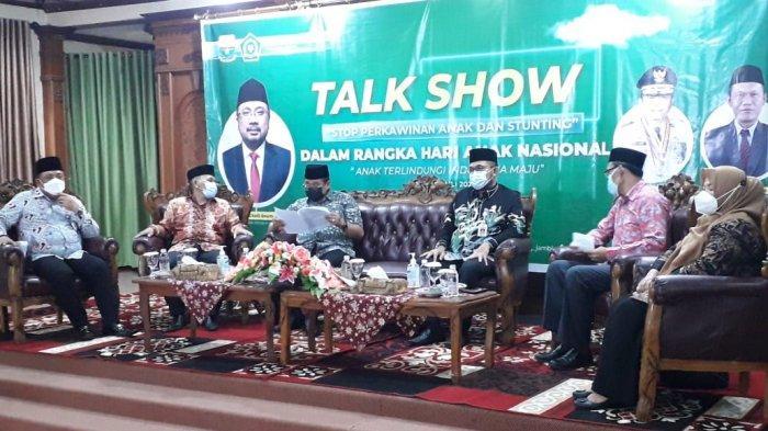 Cegah Stunting, Kantor Wilayah Kementerian Agama Provinsi Jambi Gelar Talk Show