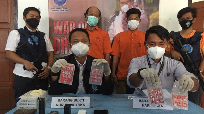 BNNK Batanghari Ciduk Bandar Narkoba di Bajubang, 34 Paket Sabu-sabu Siap Edar Disita Dari Pelaku