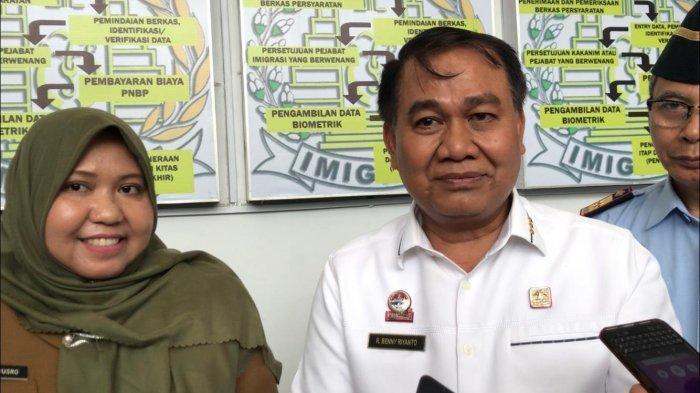 Kepala BPHN RI Puji Bupati Masnah, Sebut Pengadaan Unit Layanan Paspor Sebagai Ide Brilian