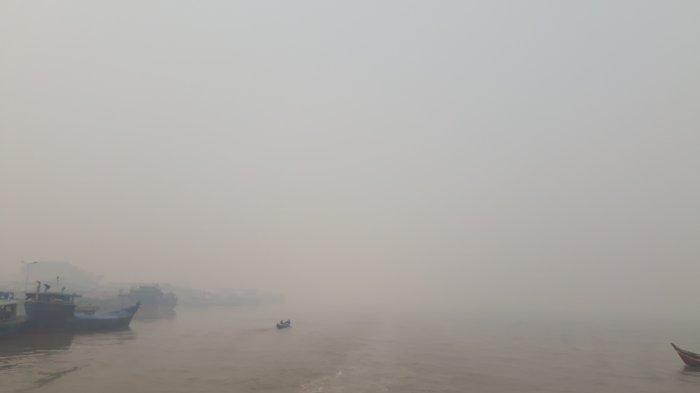 BREAKING NEWS: Kualitas Udara Kota Jambi Siang Ini Berbahaya, PM 2.5 Nilai 263