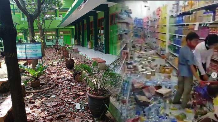 BMKG Buka Suara Soal Gempa di Malang Bermagnitudo 6,7 SR, Ini Wilayah-wilayah yang Terdampak