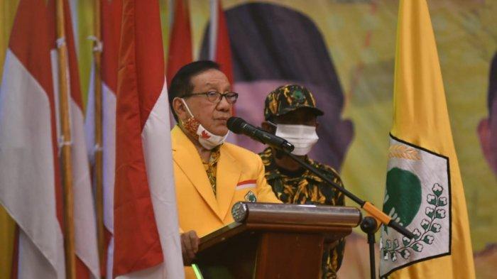 Ketua Dewan Pembina DPP Golkar Pimpin Konsolidasi di Jambi, Turun Gunung Menangkan CE-Ratu
