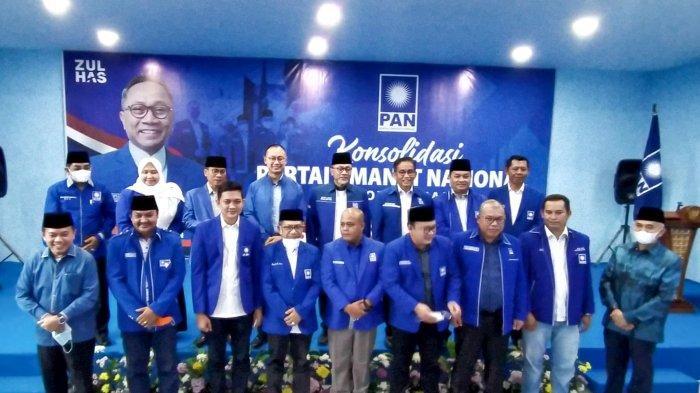 DPD PAN Batanghari Setuju Zulkifli Hasan Maju Pemilu 2024