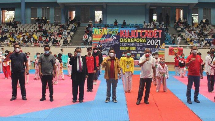 Budi Setiawan Resmi Buka Kuju Cadet Championship 2021, Diharapkan Terjaring Atlet Potensial
