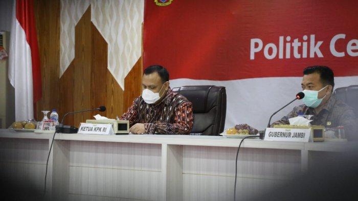Ketua KPK Tegaskan Pentingnya Politik Berintegritas di Depan 11 Parpol di Jambi