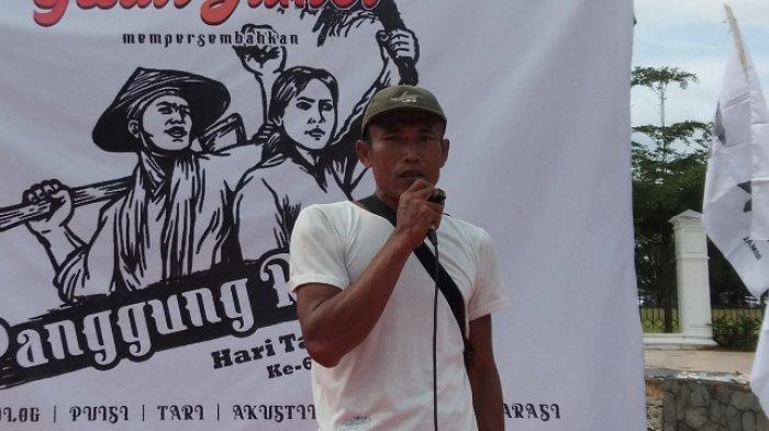 Wondo Petani Batanghari Jalan Kaki dari Jambi Sampai Jakarta untuk Memperjuangkan Haknya