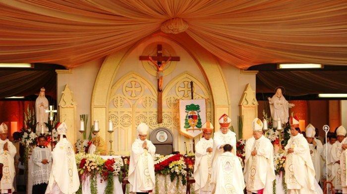 Keuskupan Agung Semarang Sampaikan Surat Edaran Teknis Pencegahan Virus Corona Bagi Gereja dan Umat