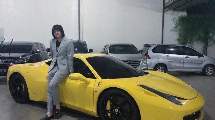 Kevin Aprillio Anak Addie MS Beli Ferrari Rp 3,5 M dari Hasil Keringat Sendiri, Bukan dari Musik