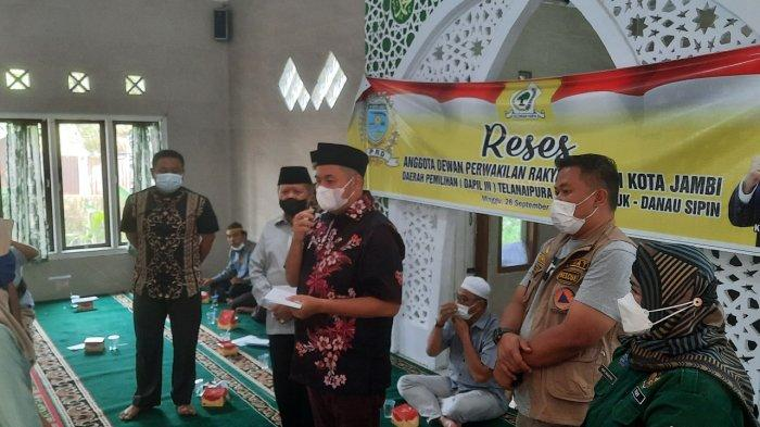 KFA Reses di Solok Sipin, Warga Ucapkan Terima Kasih Atas Realisasi Pembangunan
