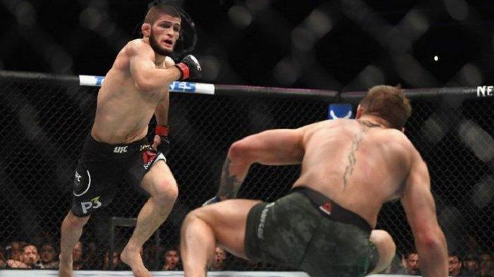 Aktor Leonardo DiCaprio Hampir Jadi Korban Khabib Nurmagomedov saat Bertarung di UFC 229