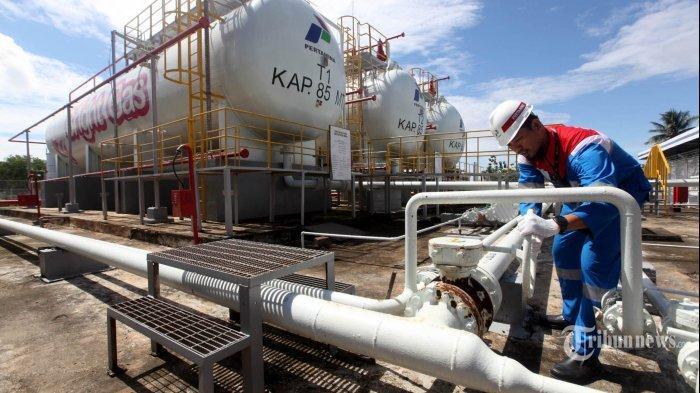 Produksi Gas Subholding Upstream Pertamina Pada Semester 1 Tembus Target, Melebihi 100 Persen