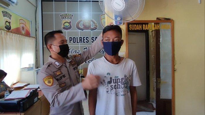 Sewa Motor Teman Rp 100 Ribu Perhari, Simak Perjuangan Pemuda SAD Mendaftar Jadi Anggota Polri
