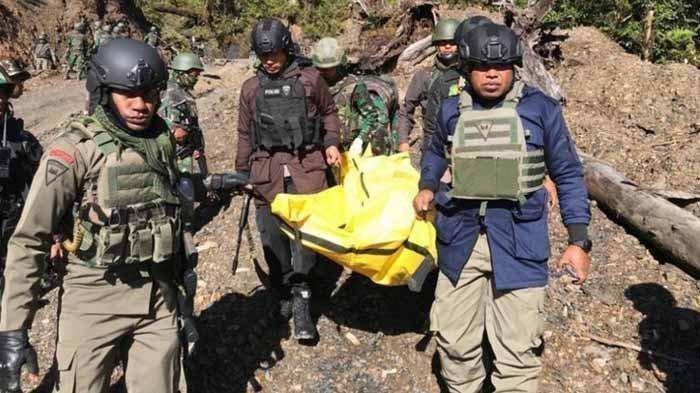 5 anggota KKB Papua tewas dalam baku tembak dengan aparat di Kabupaten Puncak, Papua.