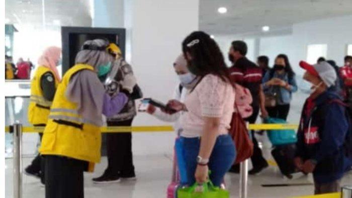 Digitalisasi Hasil Tes Covid-19 di Bandara Sultan Thaha Mulai Diberlakukan