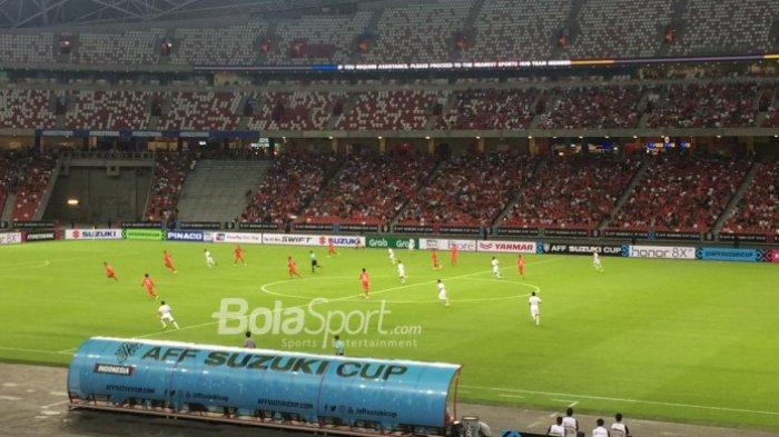 Timnas Indonesia Kalah, ini Klasemen dan Posisi Timnas Sementara di Grup B Piala AFF 2018