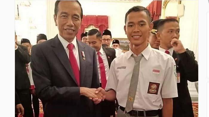 Dicoret Jadi Paskibra, Koko Ardiansyah Malah Ketemu Jokowi, Penyebab Pencoretan Akhirnya Terungkap