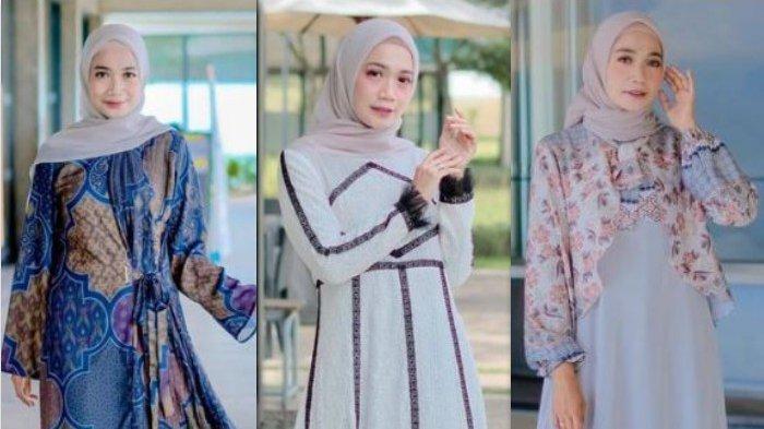 Tren Baju Gamis untuk Lebaran, Terlihat Sempurna ala Uwie Mariska untuk Para Hijabers!
