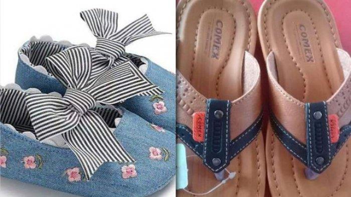 GALERI FOTO: Koleksi Sandal dan Sepatu Untuk si Kecil di Bee Bee Mart Jambi. Bisa Buat Lebaran