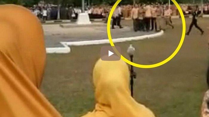 VIDEO: Wali Kota Prabumulih Ditantang Duel Asisten III di Tengah Lapangan, Dilerai Satpol PP