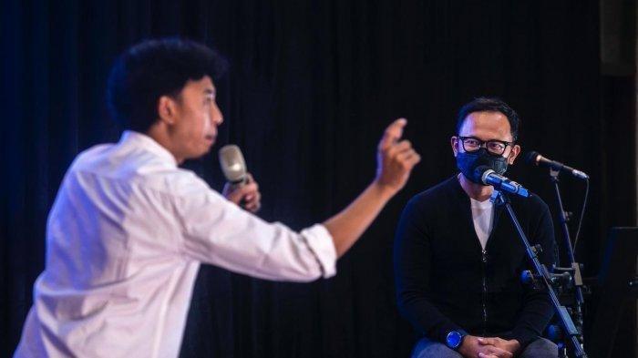 Bima Arya Ngakak Saat Diroasting Komika Fajar Nugra, Donasi untuk Pekerja Seni Capai Rp 25 Juta