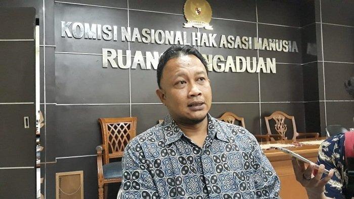 Komisioner Komisi Nasional Hak Asasi Manusia (Komnas HAM) Choirul Anam.