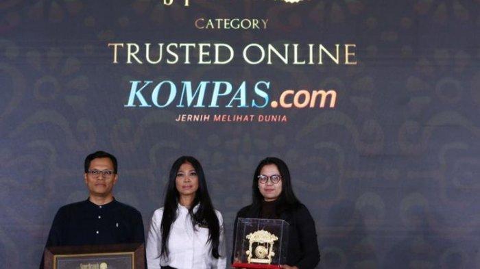 Superbrand Beri Penghargaan Untuk Kompas.com Sebagai Media Online Terpercaya