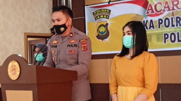Kompol Ayani Jabat Wakapolres Sarolangun, Minta Dukungan Kapolres dan Semua Personil Kepolisian