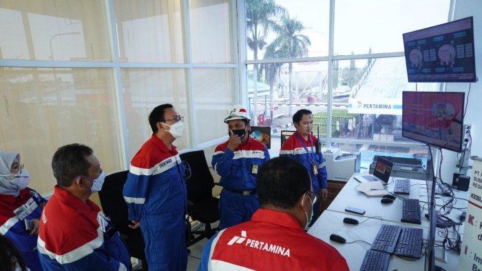 Pastikan Distribusi Optimal, Komut Pertamina Kunjungi Depot LPG Pulau Layang dan IT Palembang