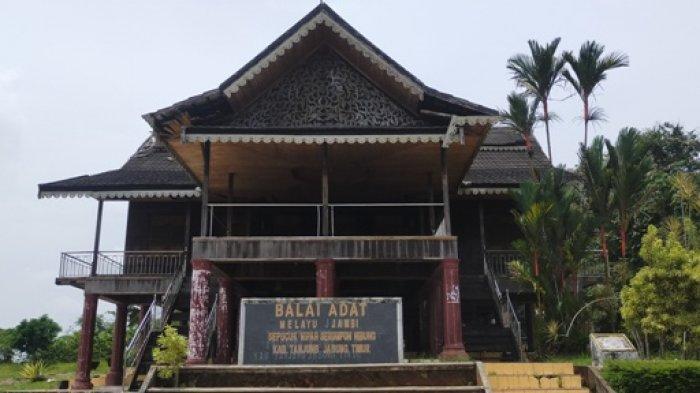 Kondisi Balai Adat Tanjabtim Semakin Usang, Sudah Beberapa Tahun Tak Diperbaiki