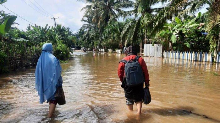 Banjir Kepung Desa Kedotan Muaro Jambi, Akses Jalan Terputus, Diprediksi Makin Parah