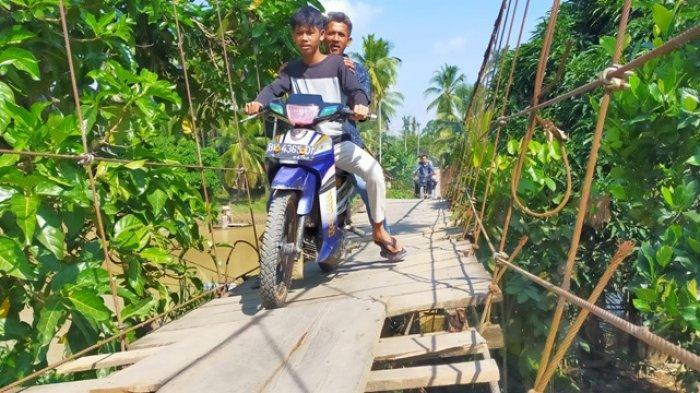Jika tak Dibangun Pusat, Jembatan Lubuk Bumbun akan Dibangun dengan Dana APBD Merangin