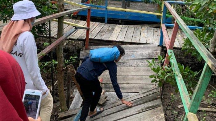 Dispora Tanjabbar Sebut Jembatan Wisata Hutan Mangrove Masuk Dalam Anggaran Pemeliharaan