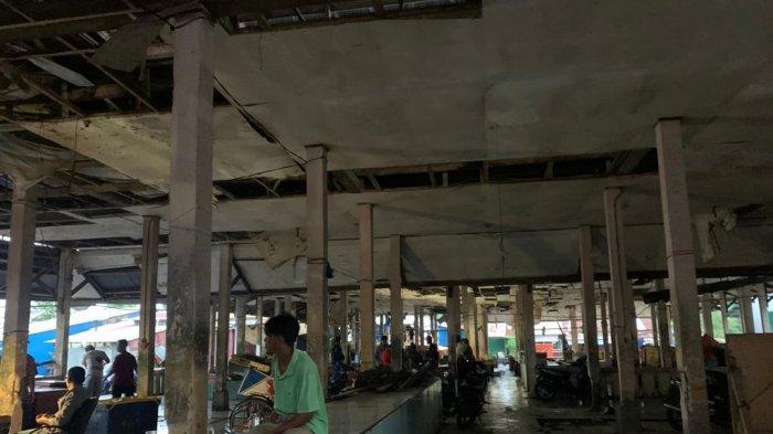 Kondisi Pasar Parit 3 Kuala Tungkal Memprihatinkan, Pedagang Pindah Lantaran Sepi Pembeli