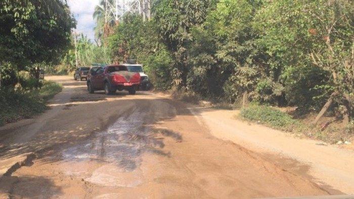 Ruas Jalan Kilangan-Bungku Banyak Lubang, Bupati Batanghari: Bakal Jadi Prioritas Perbaikan