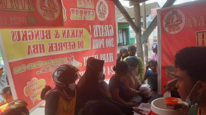 UMKM Jambi, Hanya Rp 8.000 per Porsi Ayam Geprek HBA Sering Dipesan Dalam Jumlah Banyak
