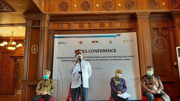 KPK Sampaikan MCP di Provinsi Jambi, Sungai Penuh dan Merangin Terendah