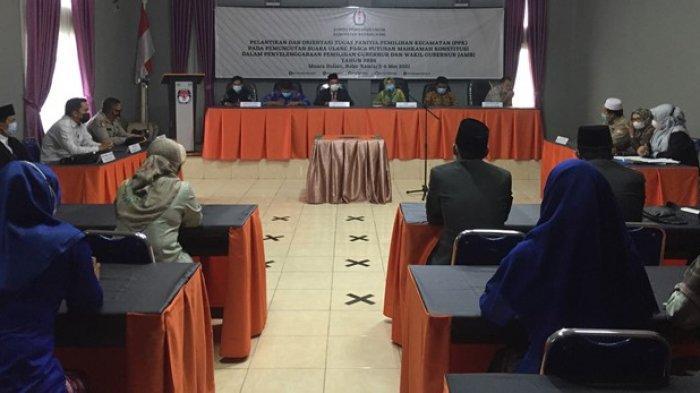 Petugas PPK dan PPS untuk PSU Pilgub Jambi Bekerja Dua Bulan, KPU Batanghari: 'Honor Tetap Sama'