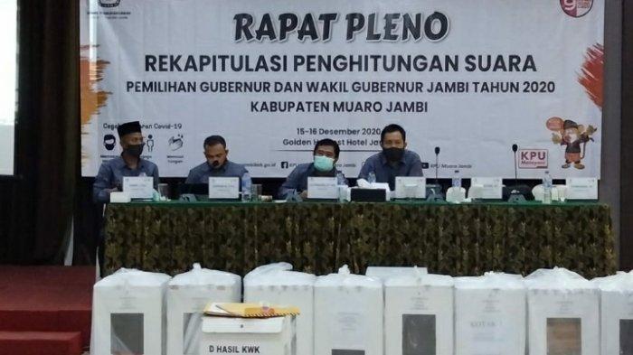 KPU Muarojambi, Merupakan Kabupaten Pertama yang Mampu Selesai Sirekap Suara