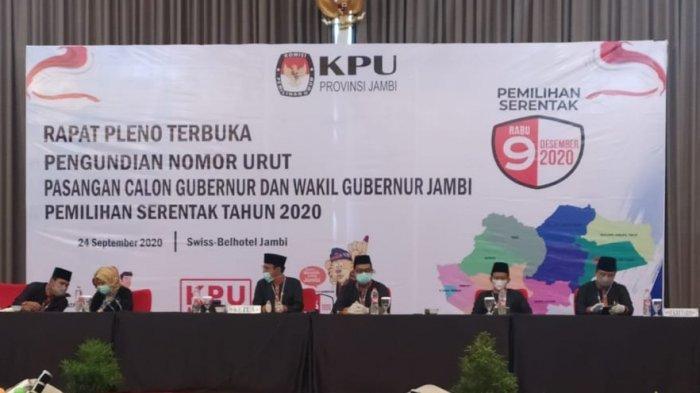 Surat Suara Pilgub Jambi Selesai Dicetak, 3 Hari Lagi Sampai di KPU Kabupaten Kota