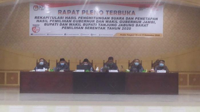 Perwakilan UAS-Hairan Tetap Awasi Pleno Penghitungan Suara Pilkada Tanjab Barat