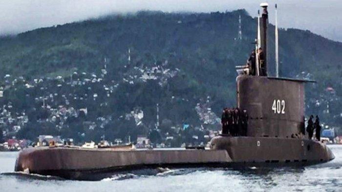 Kapal Selam KRI Nanggala-402.