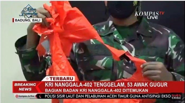 KRI Nanggala-402 telah dinyatakan tenggelam atau isyarat subsunk di perairan laut utara Bali, pada Sabtu (24/4/2021) sore, akhirnya telah ditemukan.