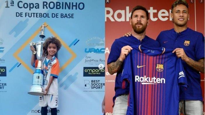 Viral, Bocah 8 Tahun Kauan Basile Pemain Termuda Dikontrak Nike, Kalahkan Messi, Neymar, Rordrigo