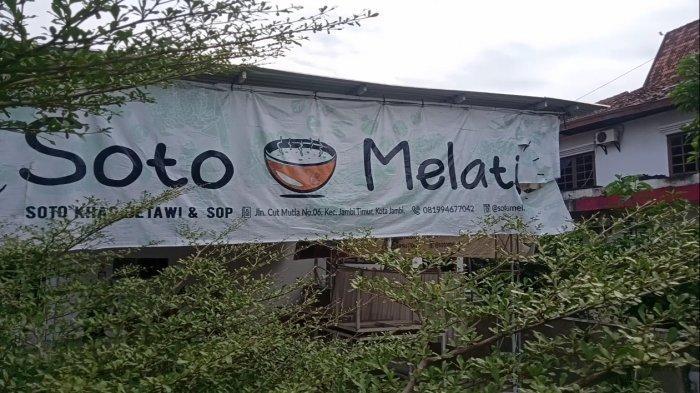 Kuliner Jambi, Lezatnya SOTO Melati, Soto Betawi Tanpa Santan di Belakang RS Bhayangkara Jambi