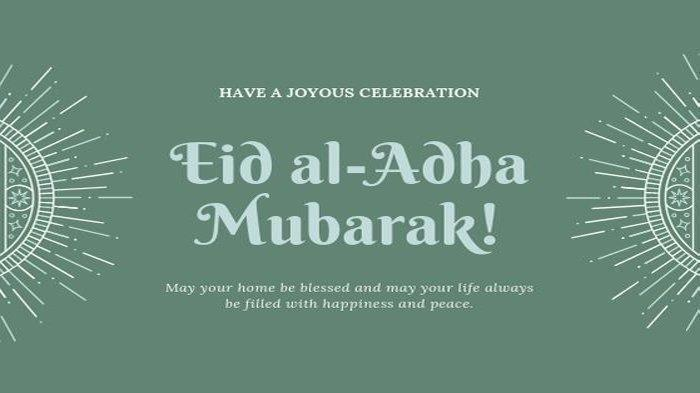 25 Ucapan Selamat Idul Adha 2019 Lengkap dengan Bahasa Inggris, Tinggal Copas
