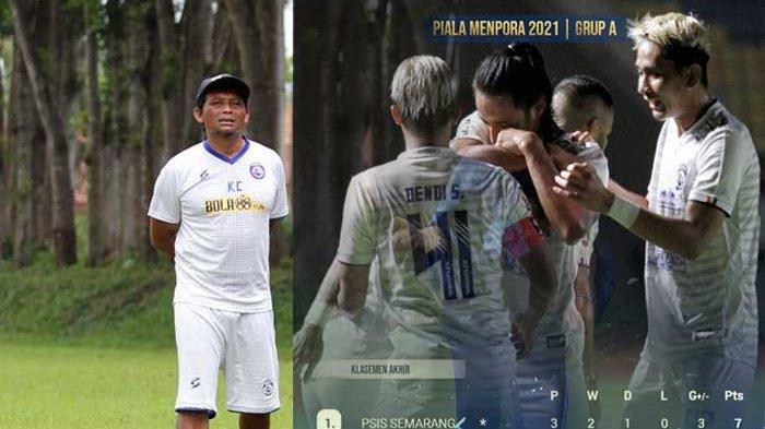 Siapa Kuncoro ? Pelatih Kepala Arema FC yang Berjasa Melahirkan Pemain Hebat Singo Edan