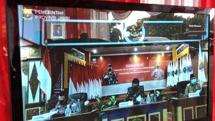 Panglima TNI dan Kapolri di Jambi, Inilah Isi Pemaparan Gubernur Al Haris dan Wali Kota Fasha