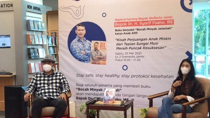 Kupas Buku Bocah Minyak Jelantah Bareng Syarif Fasha, Gramedia Jambi Akan Adakan Bedah Buku Rutin