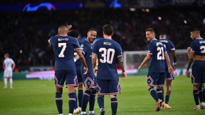 CUPLIKAN Gol Messi ke Gawang Man City di Liga Champions Tadi Malam, PSG Menang 2-0 Atas City