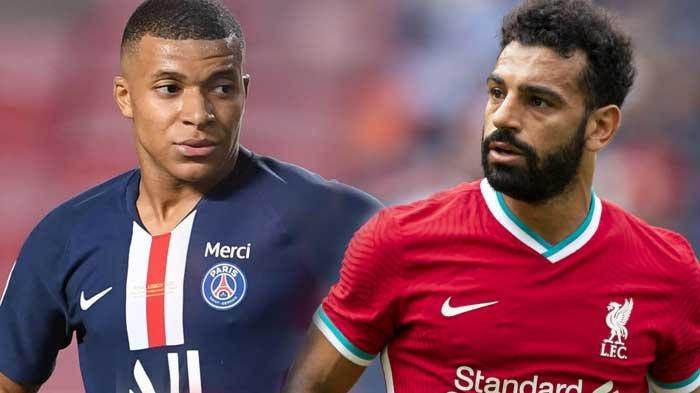 Mohamed Salah Bisa Pergi dari Liverpool Tergantung Pada Keputusan Kylian Mbappe di PSG